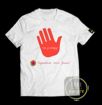 T-Shirt_NiePrzebijajbiala